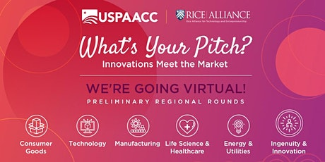 VIRTUAL What's Your Pitch: Innovations Meet the Market - Northeast tickets