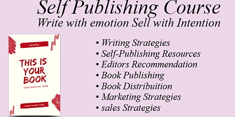Book Self Publishing Course - Creating Multiple Streams of Income tickets