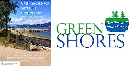 Green Shores for Shoreline Development: update for shoreline practitioners tickets