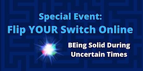 Flip YOUR Switch Online June 15-27 (1.25hrs x 12 days) @ 8:15-9:30am (MDT) tickets