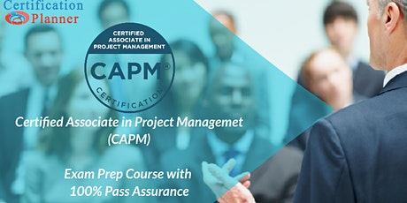 CAPM Certification In-Person Training in Guadalupe entradas