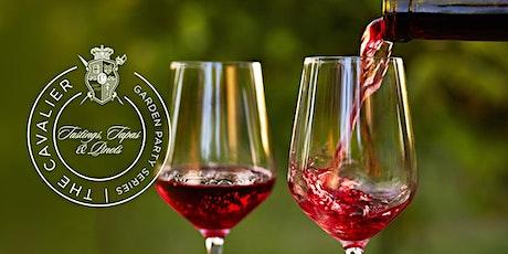 Tastings, Tapas & Pinots Garden Party at The Historic Cavalier Hotel tickets