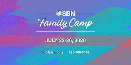 SBN Family Camp 2020 tickets