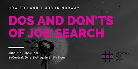 How to Land a Job in Norway: Dos and Don'ts tickets