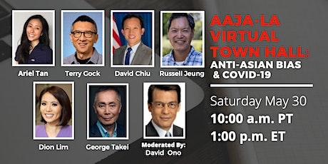 AAJA-LA Virtual Town Hall:  Anti-Asian Bias & COVID-19 tickets