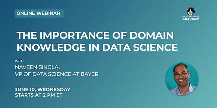 Importance of Domain Knowledge in Data Science w/ Bayer, VP of Data Science image