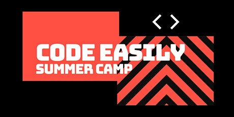 Basics of Coding Camp: July 13th to July 17th tickets