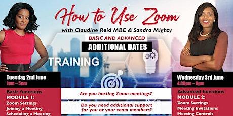 Zoom Training Workshop tickets