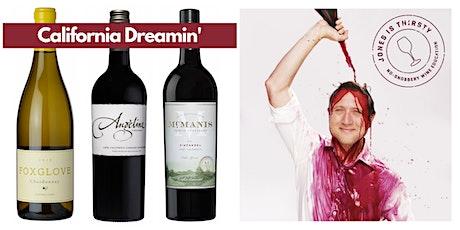 Virtual Wine Tasting: California Dreamin' tickets