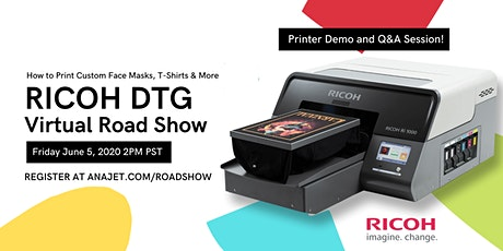 RICOH DTG Virtual Road Show tickets