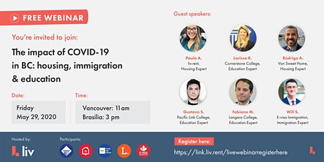 The impact of COVID-19 in British Columbia: housing, immigration, education tickets