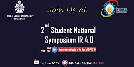 2nd Student National Symposium - SNSIR4.0 -Webinar tickets