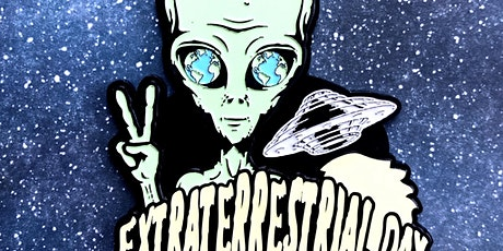 VIRTUAL RACE: Extraterrestrial Day 1M 5K 10K 13.1 26.2 -Raleigh tickets