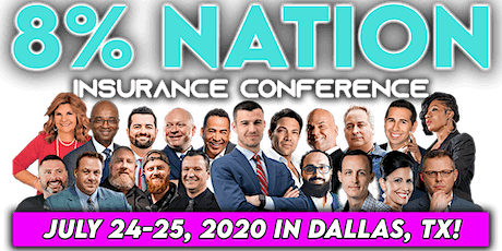 8% Nation Insurance Conference 2020 tickets