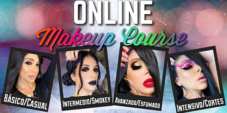 INTENSIVO/CORTES | ONLINE MAKEUP COURSE ingressos