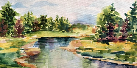 ONLINE: Landscape Painting in Watercolour tickets