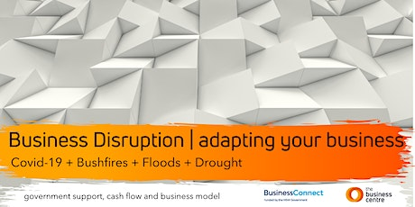 Business Disruption Live Webcast I Adapting your Business tickets
