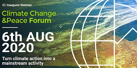 Inaugural Climate&Peace Forum tickets