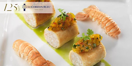 7 Course Dinner on Wednesday 24th June 2020 at Le Cordon Bleu tickets