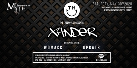 The TreeHOUSE Presents: Xander & Friends at Myth | 05.30.20 tickets