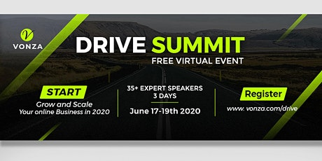 Drive Summit for Entrepreneurs & Business Owners: FREE Virtual summit tickets
