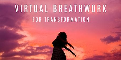 Virtual Breathwork for Transformation tickets