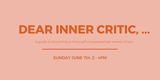 Dear Inner Critic