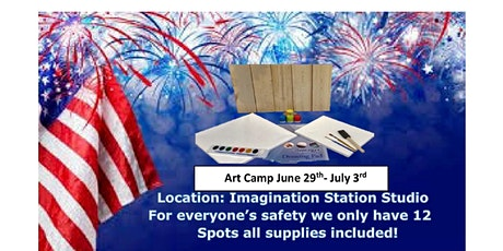 Independence Week, Summer Art Camp Age Group 6-12 tickets