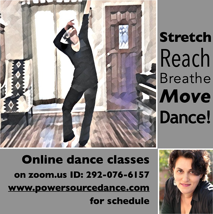 Online LA Contemporary Dance - Beginner Level image