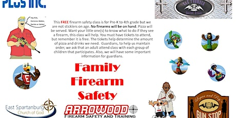 Family Firearm Safety tickets