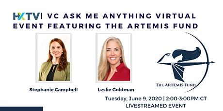 HXTV| VC Ask Me Anything Virtual Event featuring The Artemis Fund tickets