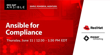 Tech Thursday Webinar - Ansible for Compliance tickets