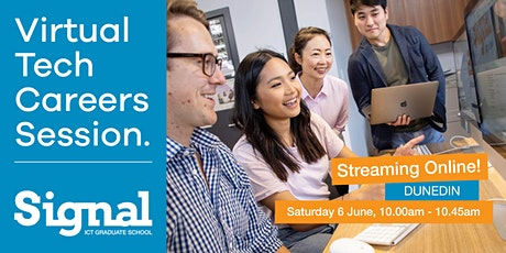 Virtual Tech Careers Session - Dunedin 6 June tickets