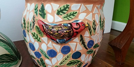 Mosaic Planter Pot tickets
