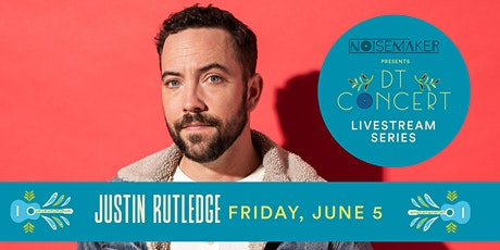 Justin Rutledge - DT Concert Livestream Series tickets
