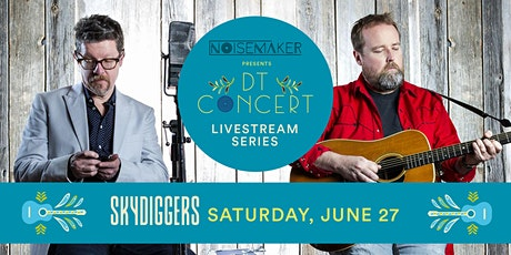 Skydiggers - DT Concert Livestream Series tickets
