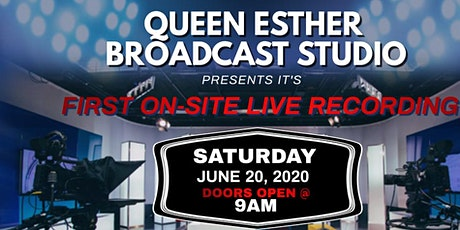 QUEEN ESTHER STUDIO LIVE TAPING  tickets