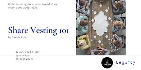 Share Vesting 101 tickets