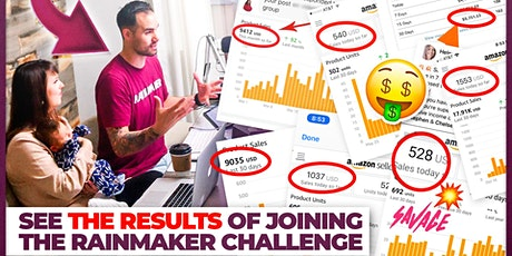 Rainmaker Challenge...learn how to sell on Amazon (the right way) tickets