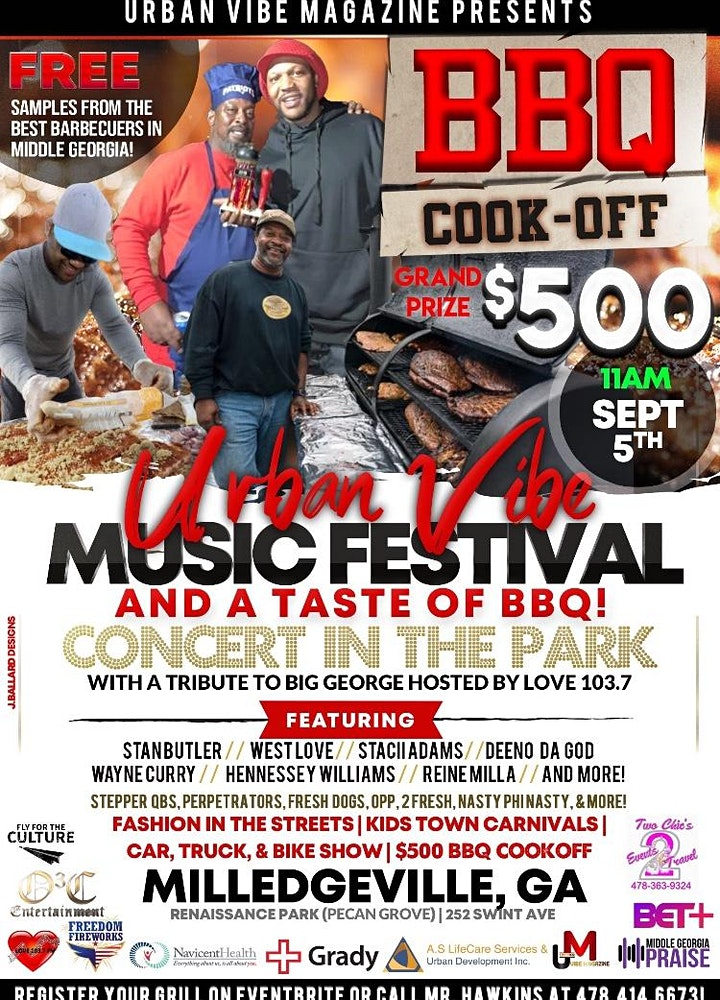 Urban-Vibe Music Festival (Milledgeville)FREE image