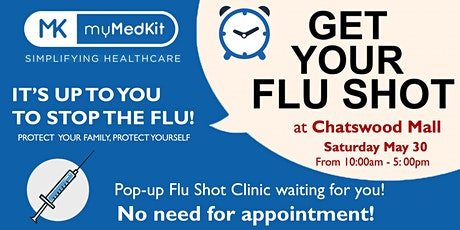 Get Your Flu Shot without an appointment! tickets