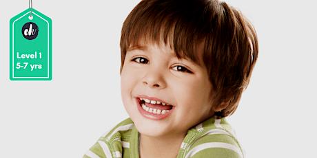 Confident Kids Program - Level 1 (5-8 years) Term 3/2020 tickets