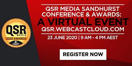 QSR Media Sandhurst Conference & Awards: A Virtual Event tickets
