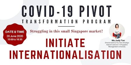 Initiate Internationalization tickets