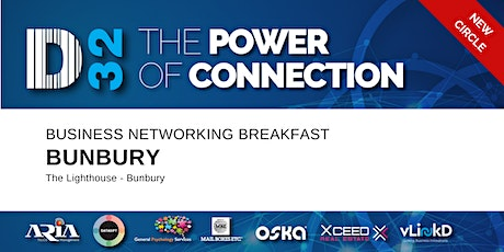 District32 Business Networking Perth – Bunbury - Tue 30th June tickets