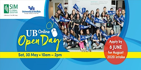Singapore Institute of Management - University at Buffalo Online Open Day tickets