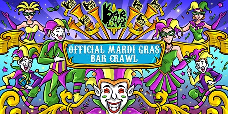 Official Mardi Gras Bar Crawl | Charlotte, NC - Bar Crawl Live tickets