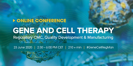 Gene and Cell Therapy: Regulatory CMC, Quality Development and Manufacturing biglietti