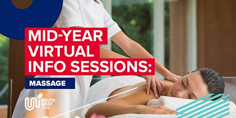 Massage mid-year info session tickets