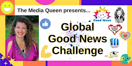 21 Day Global Good News Challenge- June 1-21, 2020 tickets